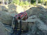 постройка системы канализации