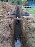 прокладка труб канализации